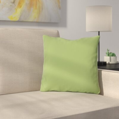 Bilderback Outdoor Throw Pillow Color: Olive