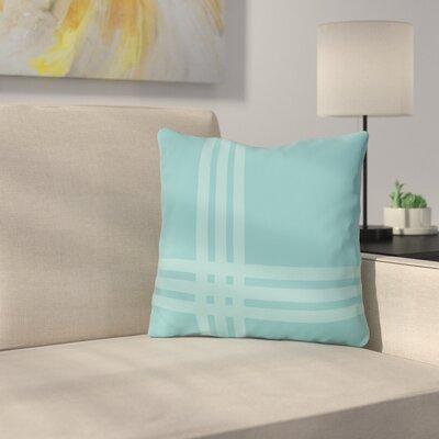 Billington Sand Outdoor Throw Pillow Color: Sky Blue