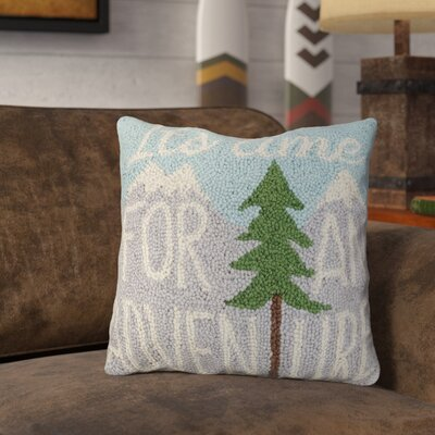 Rarick Time for Adventure Wool Throw Pillow