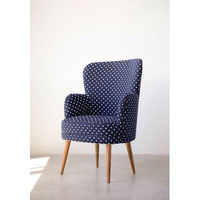 Stockton Mango Wood Barrel Chair