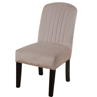 Iacovelli Channel Back Upholstered Dining Chair