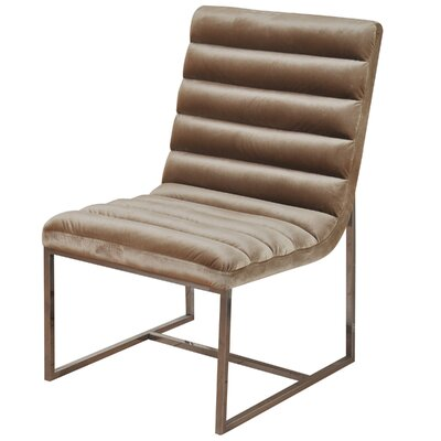 Darrens Channel Back Lounge Chair