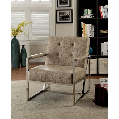 Pyle Armchair Upholstery: Light Brown