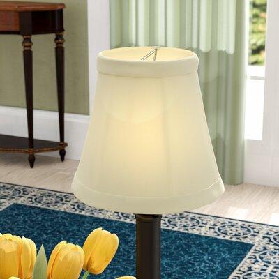 5 Silk/Shantung Bell Candelabra Shade Color: Eggshell
