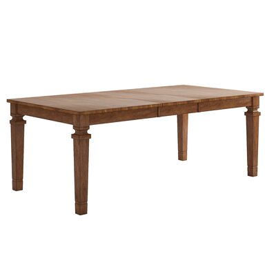 Osio Counter Height Extendable Dining Table Base Color: Oak