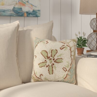 Hoang Sand Dollar Wool Throw Pillow