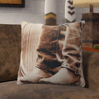 Pridgen Burlap Throw Pillow