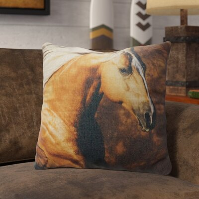 Procopio Burlap Throw Pillow
