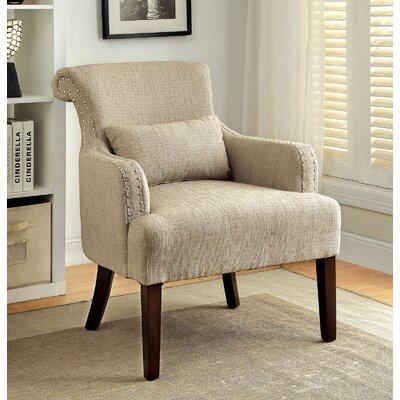 Kameron Armchair Upholstery: Beige