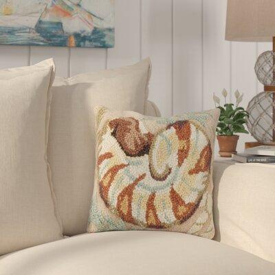 Hoadley Nautilus Wool Throw Pillow