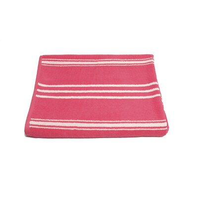 Sand Free 100% Cotton Beach Towel Color: Hot Pink