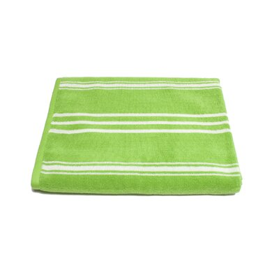Sand Free 100% Cotton Beach Towel Color: Lime