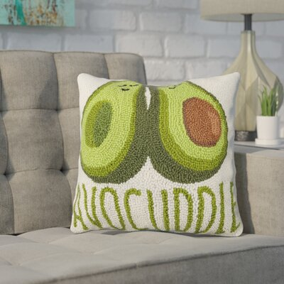 Durfee Avocuddle Wool Throw Pillow