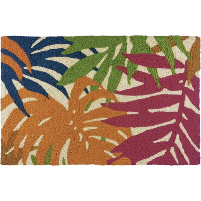 Milmont Colorful Palms Doormat