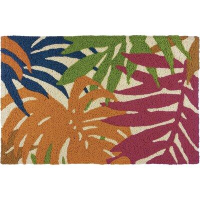 Milmont Colorful Palms Doormat