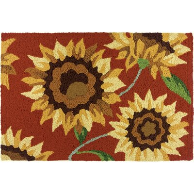 Karki Provence Sunflowers Doormat