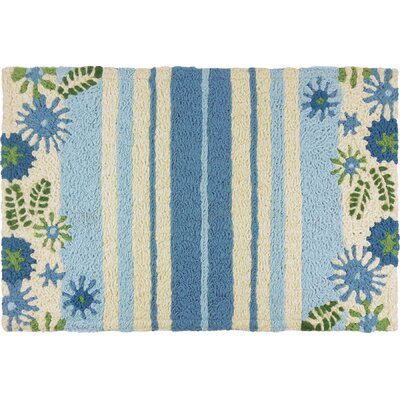 Jager Daisies and Stripes Doormat