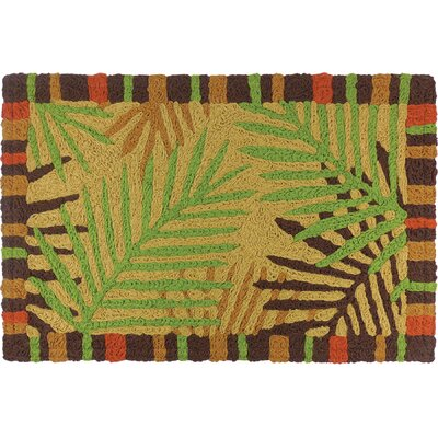 Edgehill Tropical Leaves Doormat