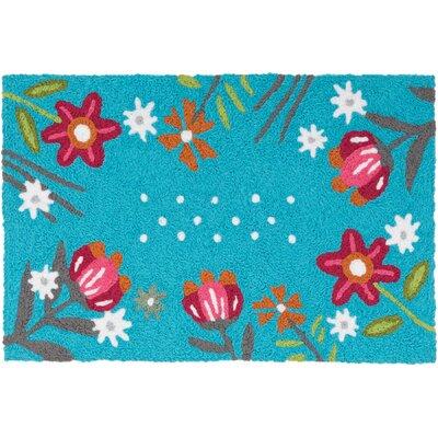 Issac Wildflower Garden Doormat
