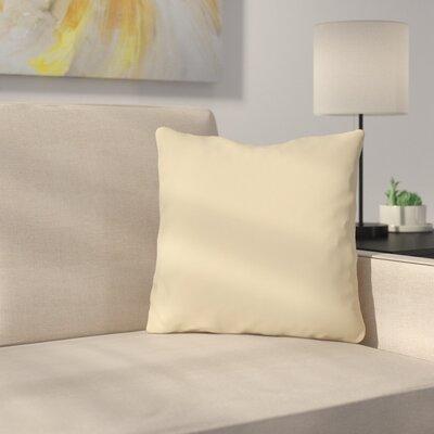 Bilderback Outdoor Throw Pillow Color: Sand