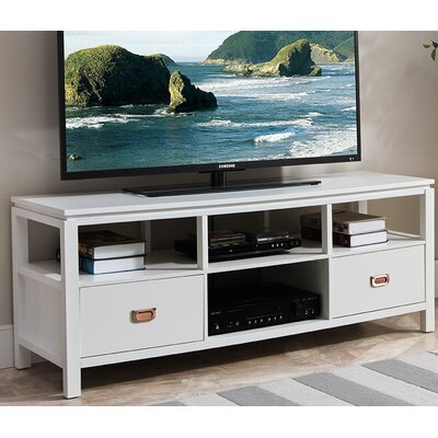Bordonaro 54 TV Stand Color: White