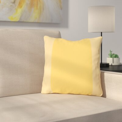 Nordman Dandelion Outdoor Throw Pillow Color: Dandelion