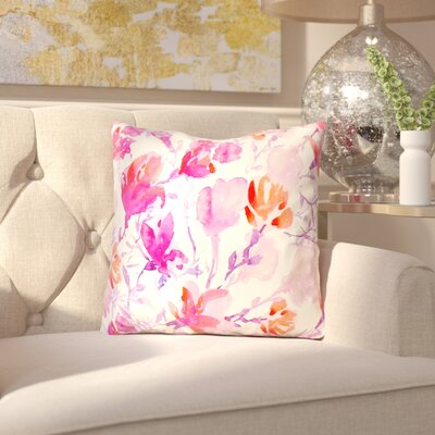 Mehara Outdoor Throw Pillow Size: 16 x 16