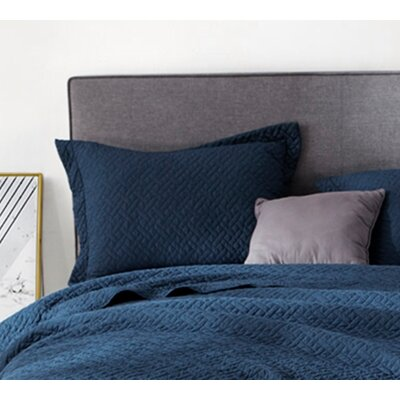 Hornung Supersoft Pre-Washed Standard Sham Size: Standard