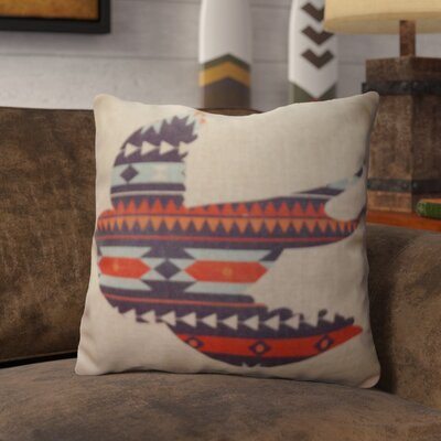 Prickett Burlap Throw Pillow