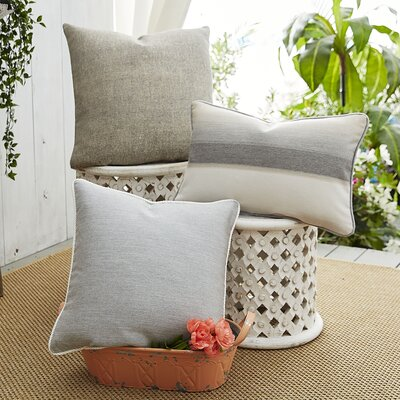 Ombre Affair 3 Piece Indoor/Outdoor Pillow Set