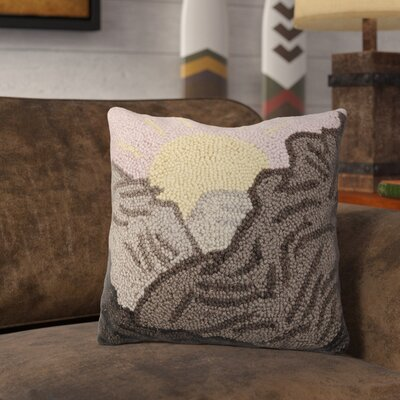 Retzlaff Desert Mountains Wool Throw Pillow