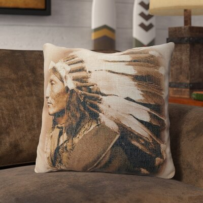 Presnell Burlap Throw Pillow