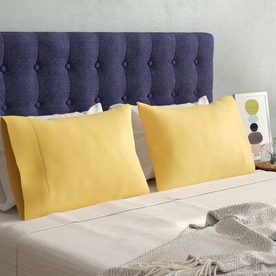 Matching Pillowcases Size: King, Color: Gold