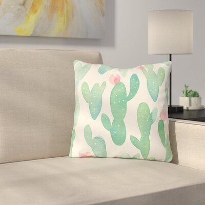 Bontang Outdoor Throw Pillow Size: 16 x 16