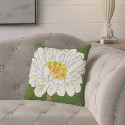 Gammill Daisy Wool Throw Pillow