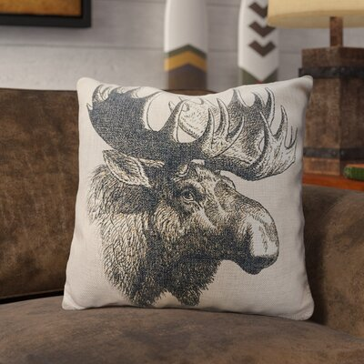 Prevost Burlap Throw Pillow