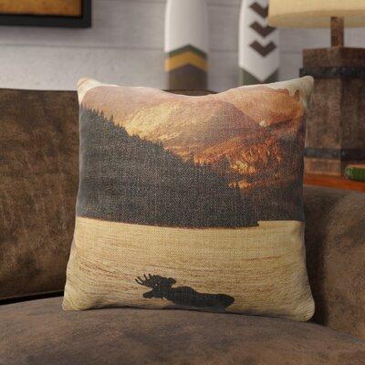 Preusser Burlap Throw Pillow