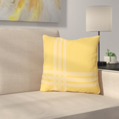 Billington Sand Outdoor Throw Pillow Color: Danddelion