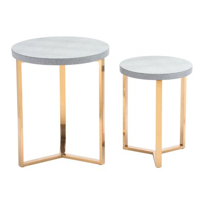 Laverock 2 Piece Nesting Table
