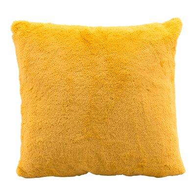 Eady Faux Fur Throw Pillow