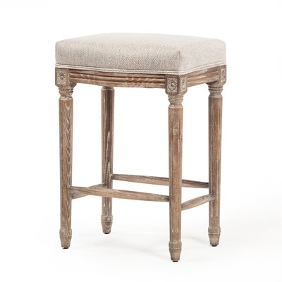 Viqueque Vintage French 26.5 Bar Stool