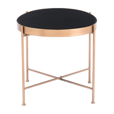 Holifield End Table Size: 15.7 H x 27.6 W x 18.1 D