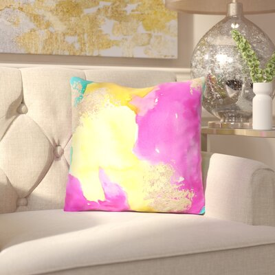 Hedberg Outdoor Throw Pillow Size: 16 x 16