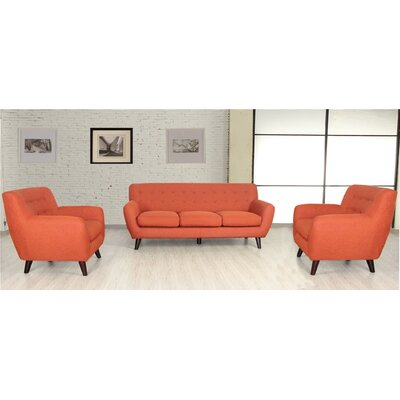 Criddle 3 Piece Living Room Set