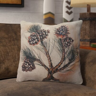 Proffitt Burlap Throw Pillow