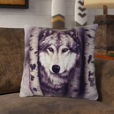 Probst Burlap Throw Pillow