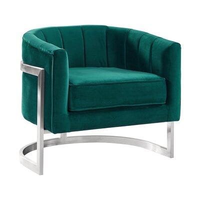 Steinhoff Armchair Upholstery: Green