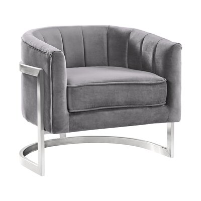 Steinhoff Armchair Upholstery: Gray