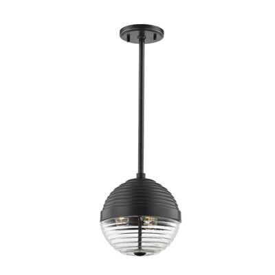 Maniscalco 3-Light Globe Pendant Finish: Old Bronze
