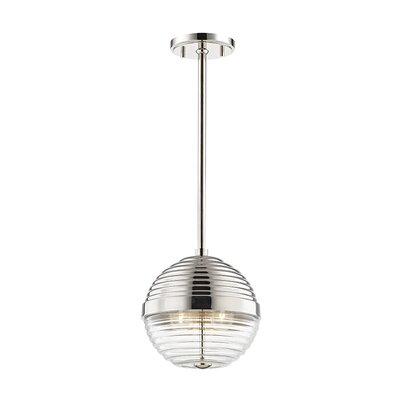 Maniscalco 3-Light Globe Pendant Finish: Polished Nickel